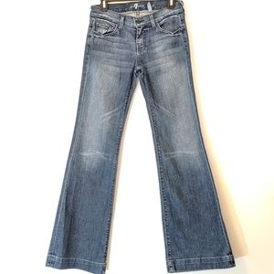Lexie Dojo 7 For All Mankind Bootcut Size 27